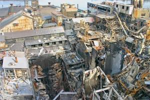 Imperial Sugar Explosion,  Port Wentworth, Georgia, February 7th, 2008